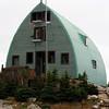 Finally!  Conrad Kain Hut - 3 level monstrosity, erected in 1972, it sleeps about 40.