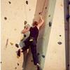 Victorian Climbing Championships @ Flemington, May 2003. Heidi.