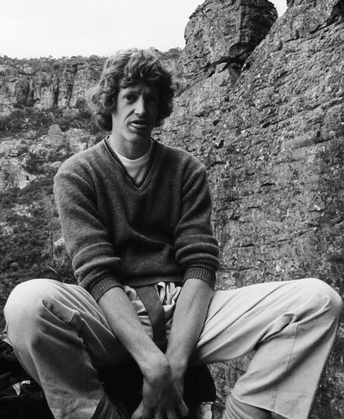 1976. October. Kevin Lindorff at Arapiles.