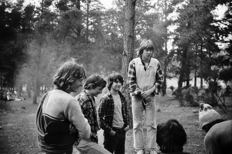 Arapiles Campfire Scene 1978