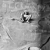 1981. Richard Smith in the Ogive cave at Bundaleer, Grampians National Park, Victoria.