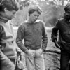 1981. Jeff Shrimpton, Doug Fyfe and Alan Wilke. The pines at Arapiles.