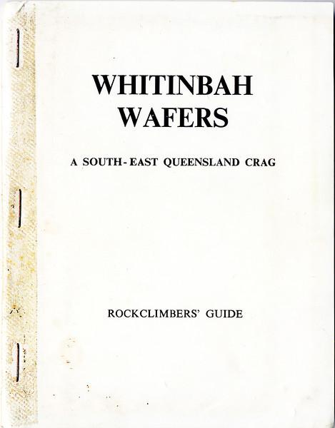 Queensland. Whitinbah Wafers.