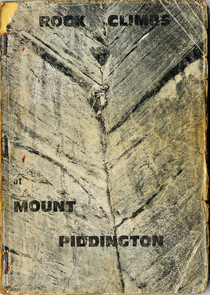 New South Wales. Rockclimbs at Mt Piddington.
