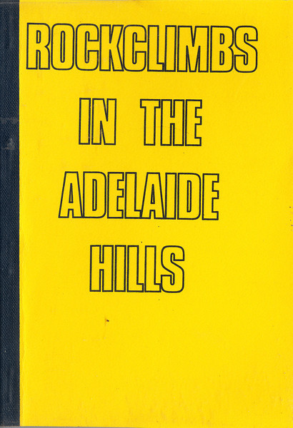 South Australia. Rockclimbs In The Adelaide Hills.