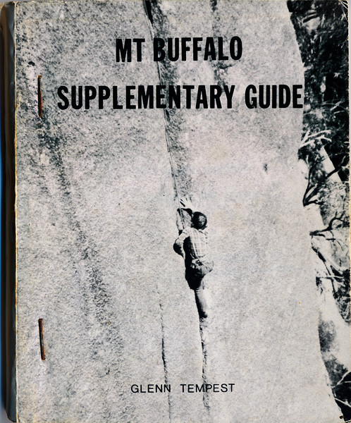 Victoria. Mt Buffalo Supplementary Guide. Glenn Tempest.