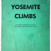 Yosemite Climbs by George Myers (1976)