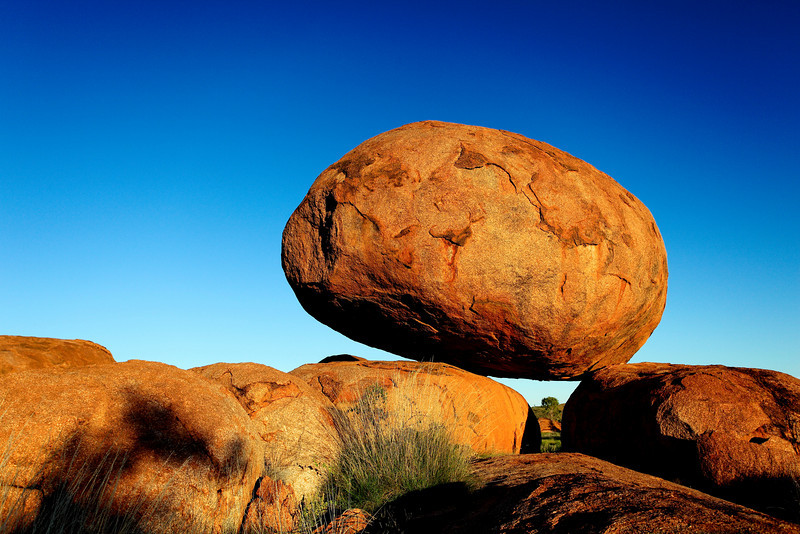 The Devils Marbles at sunrise. Central Australia.