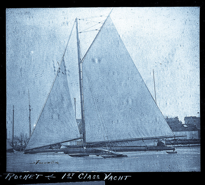 Rocket Class One Iceboat