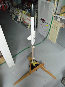 My D ege loft rocket on the piston. I have no idea if it will work but we are going to try!