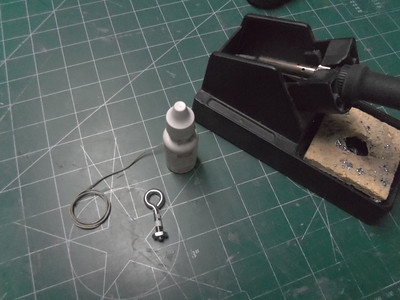 Im going to silver solder the eye bolt closed. Not sure it will help all that much but I figure it has to fail the solder first. I would have to slow down a falure.