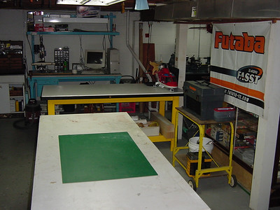 This is a shot of my work area.. I have 3 table top benches.. use em all.. all the time..