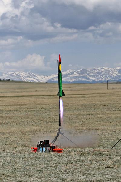 Tripoli-CO Hartsel 5-20-07 Launch