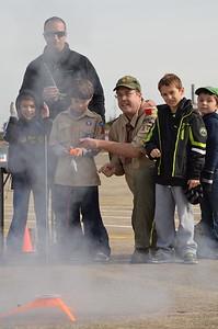 Rocket Launch at Horsham Air Guard Station