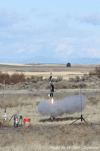 Tim Doll's BOMARC lifts off on a G64.