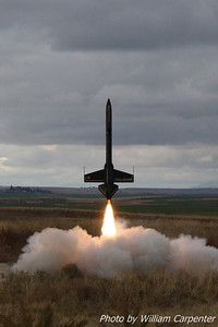 Bryan Whitemarsh's Avenger lifts off on a K560.