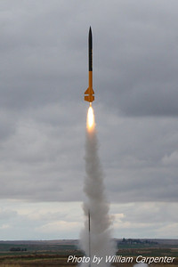 A BSD Thor lifts off on an I161.