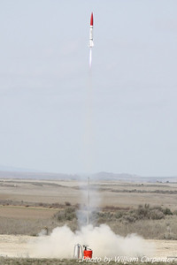 My Madcow Rocketry Little John flies again on a CTI H200.