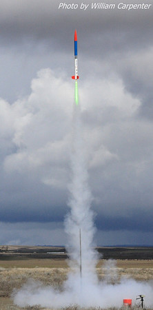 Bryon Schopp's Excel Plus lifts off on a J500.