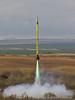 "A UW rocket named ""Super Saiyan"" on a K805 Mojave Green."