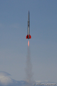 An LOC Iris lifts off on a long-burn G54.