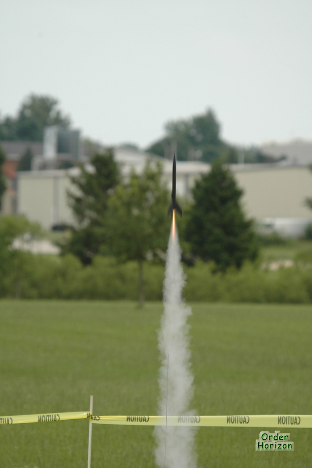 Corwin's very first launch