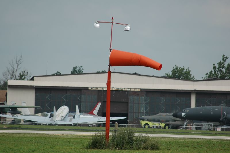 The evil windsock, cause of all of our problems