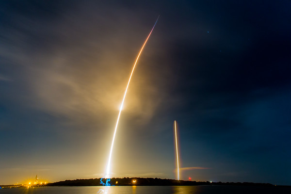 SpaceX Falcon9 OG2 launch and landing