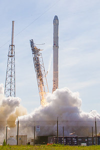 CRS8 Falcon9 launch by SpaceX