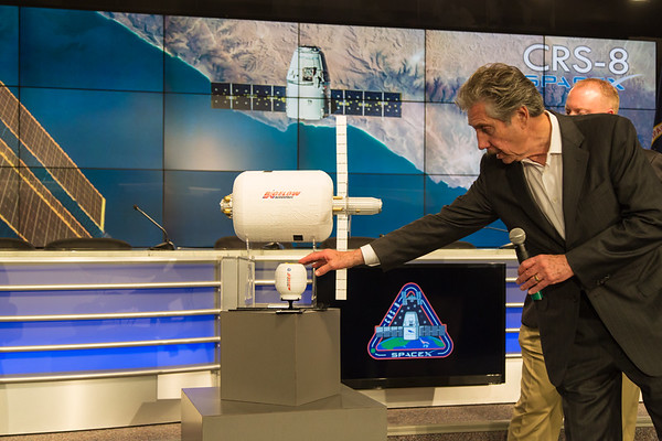 """CRS-8 """"WHAT'S ON BOARD"""" Science Briefing on NASA TV"""