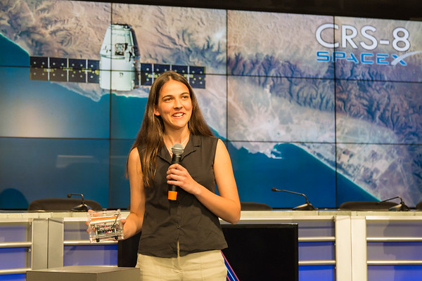 "CRS-8 ""WHAT'S ON BOARD"" Science Briefing on NASA TV"