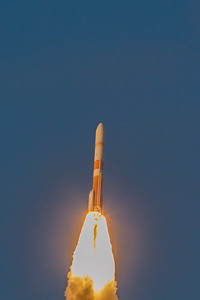 WGS7 DeltaIV - 20 seconds in flight