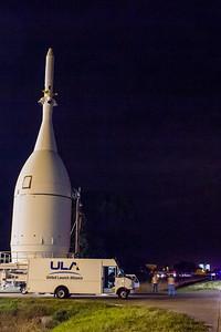 Orion capsule + VAB