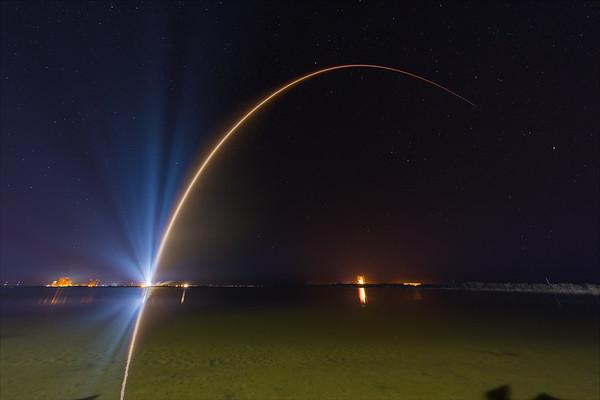 SBIRSGEO3 Atlas V launch by United Launch Alliance - It's full of stars.