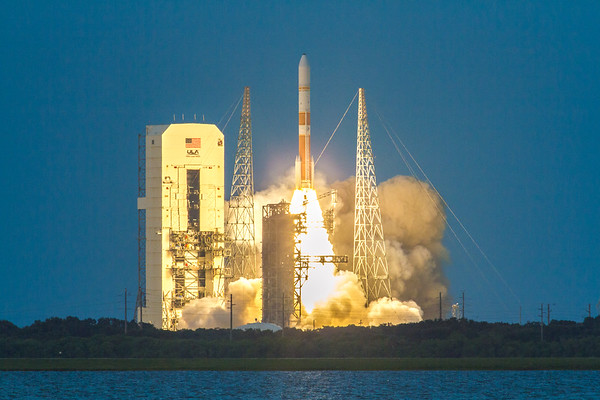 WGS7 DeltaIV Liftoff