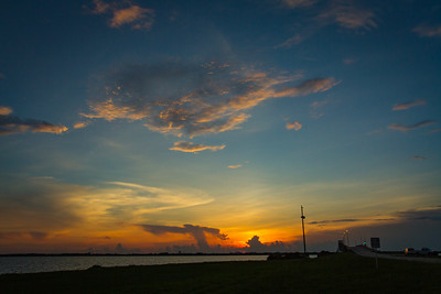 Sunset at Kennedy Space Center / Cape Canaveral Air Force Station