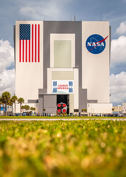 And one final one before it enters the VAB and Ars calls it a day at Kennedy Space Center.