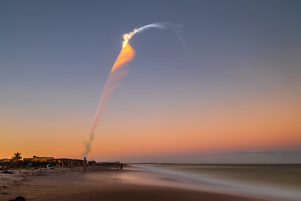 4 minute exposure of a classified NROL-101 payload launching aboard an Atlas V-531 on November 13th, 2020.