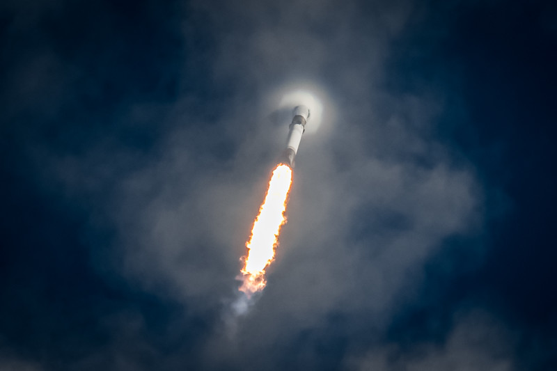 Falcon 9 powers its way to space for a 6th time before landing a record 6th time on August 18th, 2020.