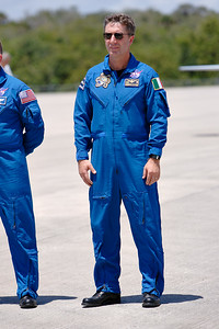 Tuesday, April 26 - Mission Specialist Robert Vittori (ESA / Colonel, Italian Air Force)
