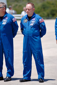 Tuesday, April 26 - Mission Specialist Mike Fincke (Colonel, USAF)