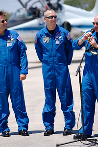 Tuesday, April 26 - Mission Specialist Drew Feustel