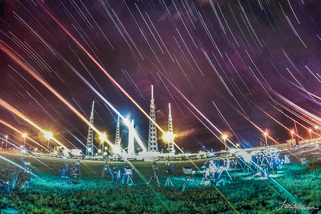 GoPro: Star Trails From LC-40