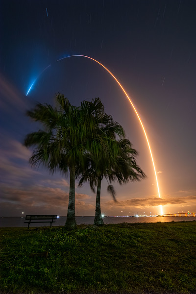 Liftoff of the SpaceX Crew-2 mission taking 4 astronauts to the International Space Station for NASA.