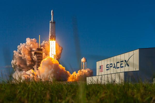 Falcon Heavy Arabsat-6A
