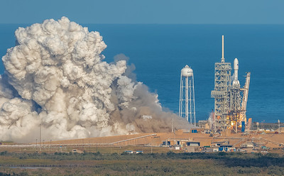 Falcon Heavy launches on its maiden flight, February 6th, 2018.