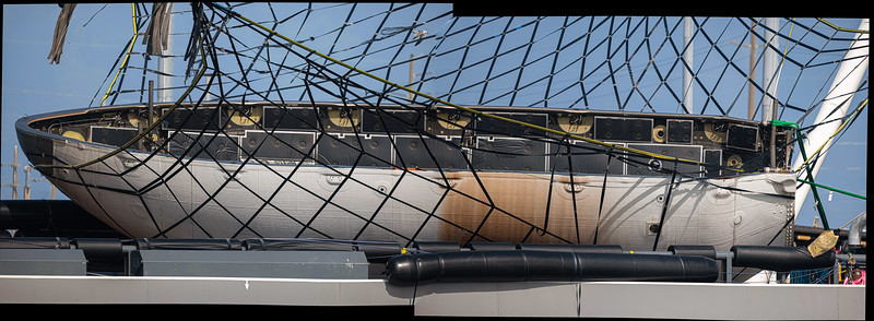 93.4 megapixel panorama of GPS-III SV04 fairing half.