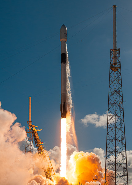57th successful Falcon 9 landing yesterday. Here was its start on SLC-40.