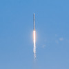 SpaceX Falcon 9 just after lifting off from LC-39A during the CRS-12 mission.