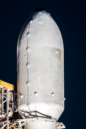 Close up of the previously-used fairing.
